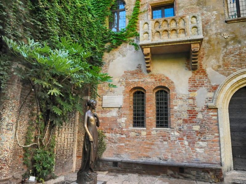 Балкон в доме Джульетты, Верона