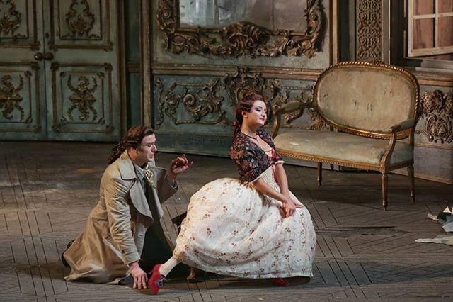 """Ла Скала, опера Моцарта """"Мнимая Садовница"""""""