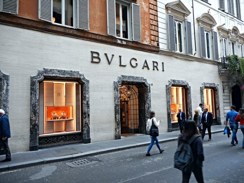 Модный квартал Рима рядом с площадью Испании