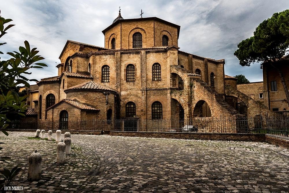 Церковь Сан Витале в Равенне, Италия