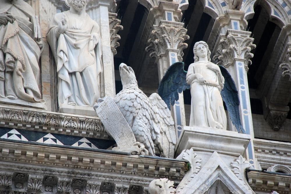 Гиббелинский орел, Сиенский собор