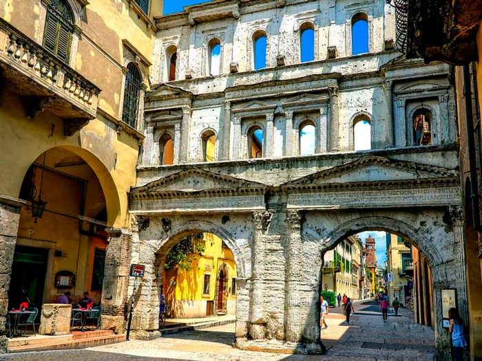 Порта Борсари, Верона