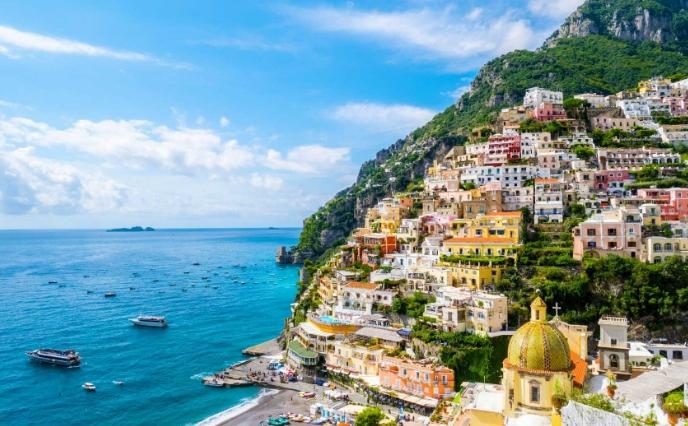 7Амальфитанское побережье Италии