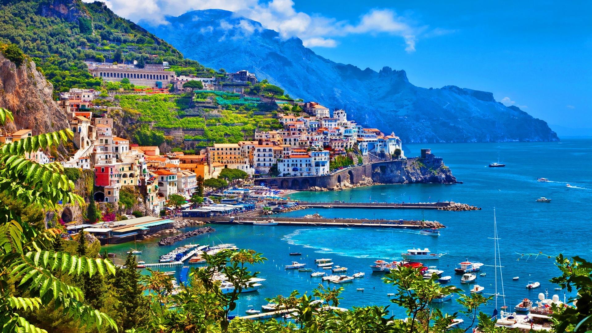 Город Амальфи, Италия