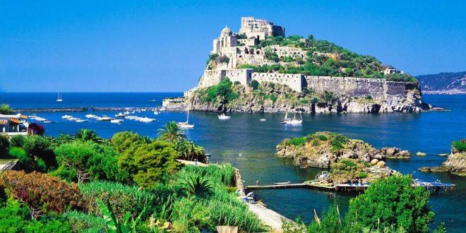 Остров Искья в Италии