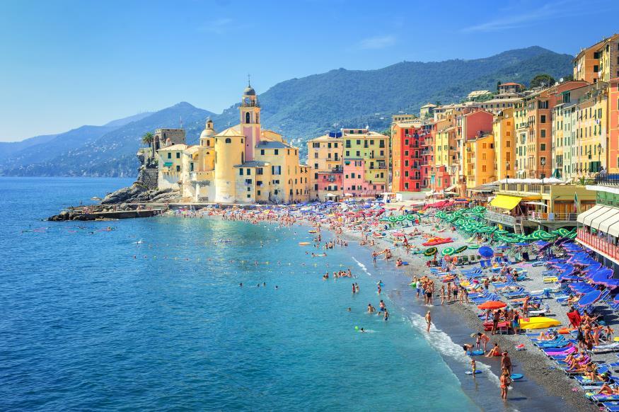 Пляжный отдых в Генуе