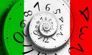 Время в Италии