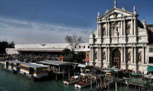 Вокзал Санта-Лючия в Венеции